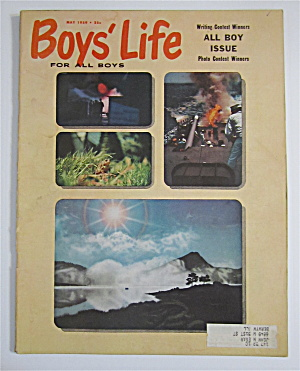 Boys' Life Magazine May 1959 Photo Contest Winners