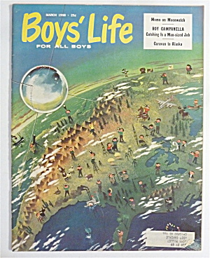 Boys' Life Magazine March 1958 Roy Campanella