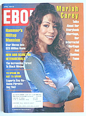 Ebony Magazine April 1994 Mariah Carey