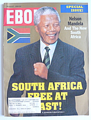 Ebony Magazine-august 1994-nelson Mandela