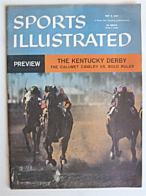 Sports Illustrated May 6, 1957 Kentucky Derby