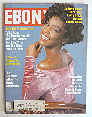 Ebony Magazine-may 1991-whitney Houston
