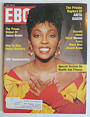 Ebony Magazine July 1991 Anita Baker