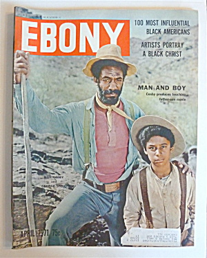 Ebony Magazine April 1971 Man & Boy