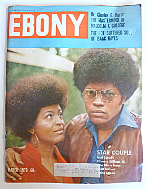 Ebony Magazine March 1970 Star Couple