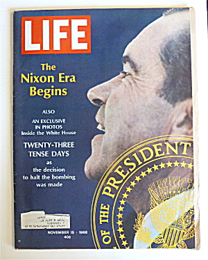 Life Magazine-November 15, 1968-Nixon Era Begins  (Image1)