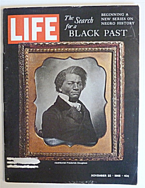 Life Magazine-november 22, 1968-search For Black Past