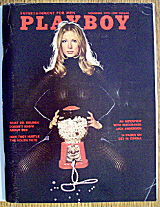 Vintage Playboy-november 1972-jack Anderson Interview