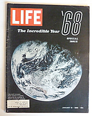 Life Magazine-january 10, 1969-the Incredible Year