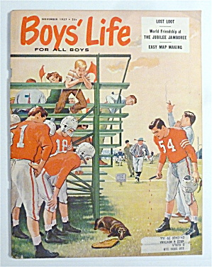 Boys Life Magazine November 1957 Jubilee Jamboree