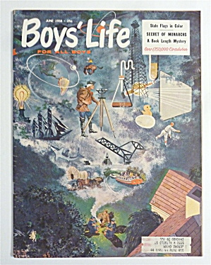 Boys Life Magazine-june 1958-secret Of Monarchs