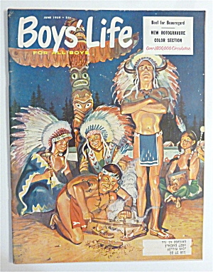 Boys Life Magazine-june 1959-beef For Beauregard