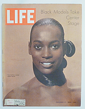 Life Magazine-october 17, 1969-black Models