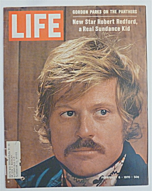Life Magazine-february 6, 1970-robert Redford