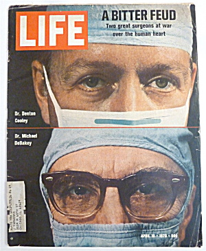 Life Magazine-april 10, 1970-a Bitter Feud