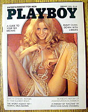 Playboy Magazine-February 1976-Laura Lyons (Image1)