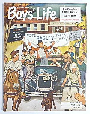 Boys Life Magazine September 1959 Missouri River Boy