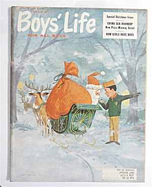 Boys Life Magazine December 1959 How Girls Rate Boys