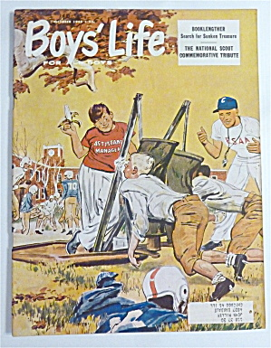 Boys Life Magazine October 1959 Sunken Treasure