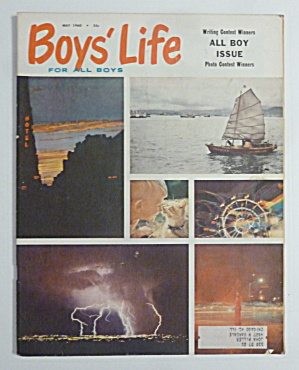 Boys Life Magazine May 1960 Hockey Pest