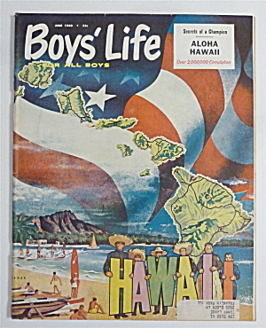 Boys Life Magazine June 1960 Aloha Hawaii