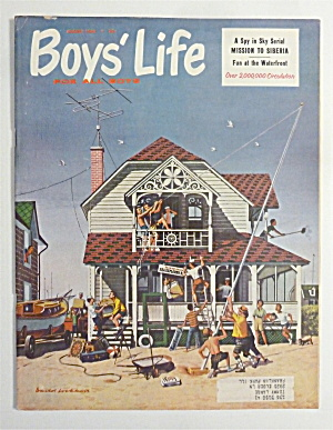 Boys Life Magazine August 1960 Mission To Siberia