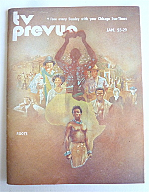Tv Prevue January 23-29, 1977 Roots