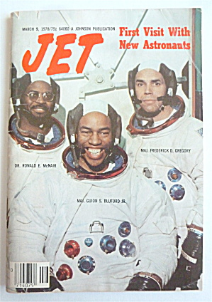 Jet Magazine March 9, 1978 First Visit W/new Astronauts