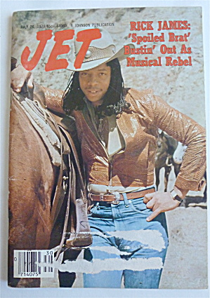 Jet Magazine July 26, 1979 Rick James