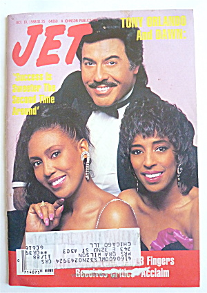 Jet Magazine October 10, 1988 Tony Orlando & Dawn
