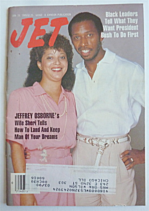 Jet Magazine January 30, 1989 Jeffrey Osborne's Wife