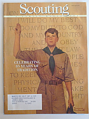 Scouting Magazine March-april 1995 Celebrate 85 Years