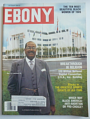 Ebony Magazine October 1989 Breakthrough In Religion