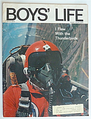 Boys Life Magazine August 1974 I Flew With Thunderbirds