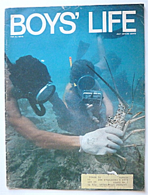 Boys Life Magazine July 1974 Key West Snorkel Adventure