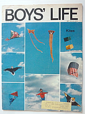 Boys Life Magazine May 1974 Kites