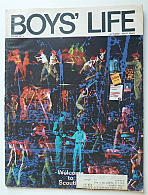 Boys Life Magazine September 1972 Welcome To Scouting