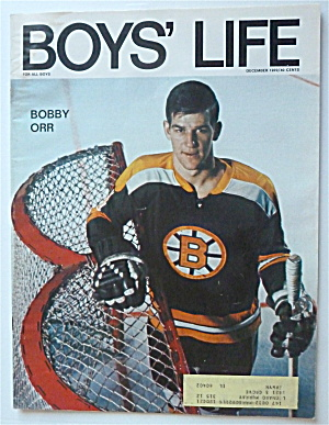 Boys Life Magazine December 1970 Bobby Orr