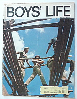 Boys Life Magazine April 1972 Make Mine Chorizo, Amigo