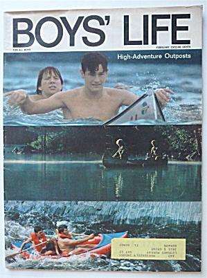 Boys Life Magazine February 1972 High Adventure Outpost