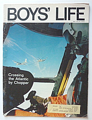 Boys Life Magazine May 1972 Crossing The Atlantic