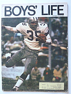 Boys Life Magazine September 1970 Calvin Hill