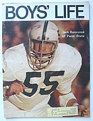 Boys Life Magazine October 1973 Jack Baiorunos