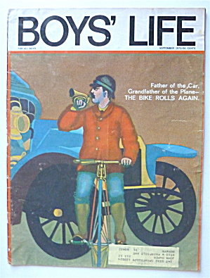 Boys Life Magazine September 1973 The Bike Rolls Again