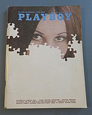Playboy Magazine-September 1971-Crystal Smith (Image1)