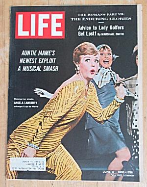 Life Magazine June 17, 1966 Angela Lansbury  (Image1)