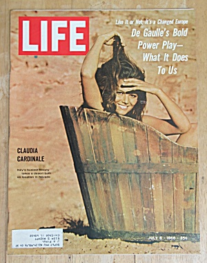 Life Magazine July 8, 1966 Claudia Cardinale