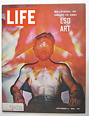 Life Magazine September 9, 1966 Lsd Art