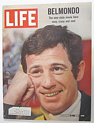 Life Magazine November 11, 1966 Belmondo  (Image1)