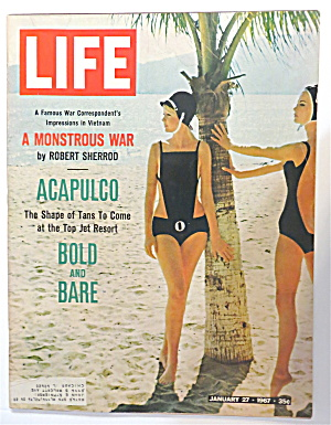 Life Magazine January 27, 1967 Acapulco